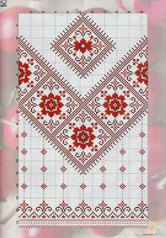 This Pin was discovered by Sve Cross Stitch Borders, Cross Stitch Flowers, Cross Stitch Designs, Cross Stitching, Cross Stitch Patterns, Blackwork Embroidery, Folk Embroidery, Cross Stitch Embroidery, Embroidery Patterns