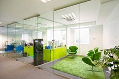 Interesting private office concept