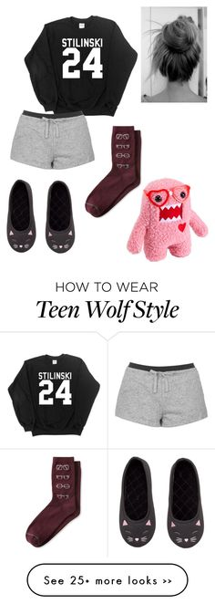 """""""Sleep wear"""" by redheadhovland on Polyvore featuring Topshop, Banana Republic and H&M"""