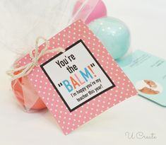 Cute teacher gift idea with lip balm