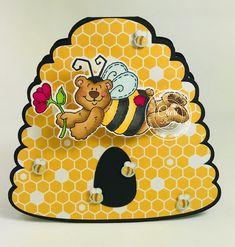 "High Hopes ""Buzzin By Bear"" by CheriB Designs"