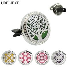 Find More Pendants Information about Hot Sale 30mm Car  Diffuser Jewelry Stainless Steel Car Aromatherapy Diffuser With Carstal Car Crystal Vent Air Freshener,High Quality diffuser jewelry,China stainless steel diffuser Suppliers, Cheap aromatherapy diffuser jewelry from U Believe Jewelry & Store on Aliexpress.com