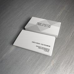 Cliente: Pamela Puertas (ARG) Tarjetas personales.
