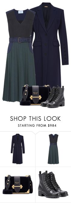 """""""Midnight"""" by cherieaustin ❤ liked on Polyvore featuring Michael Kors and Prada"""