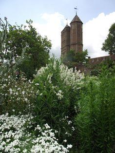 The White Garden and the Tower, Sissinghurst, July 2011 (AH)