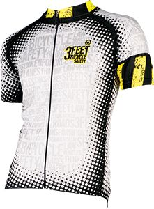 Men's Cycling Jerseys - Safety First