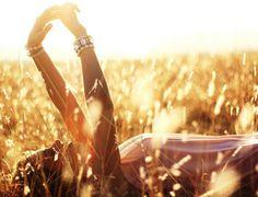 Laying in the sun <3