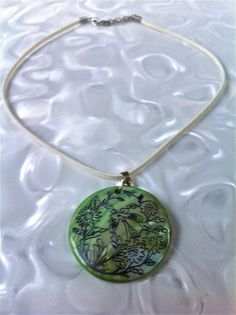 Silver Etched Necklace $20.00 on mjcali1048@hotmail.com