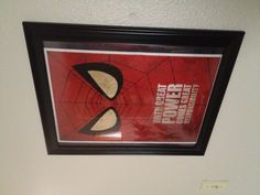 Super hero room Spider-Man print!