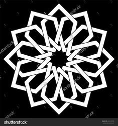 Islamic geometric art, arabic motif, sacred geometry, star mandala, vector illustration