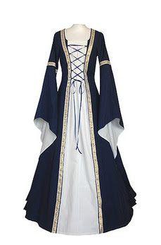 vestidos de bruxas medievais - Pesquisa Google