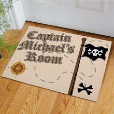 Personalized Pirate Doormat