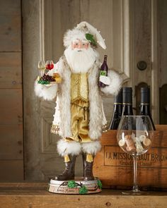 Shop Sonoma Santa at Horchow, where you'll find new lower shipping on hundreds of home furnishings and gifts. Christmas Wine, All Things Christmas, Christmas Cards, Christmas Ornaments, Xmas, Holiday Centerpieces, Christmas Decorations, Holiday Decor, Margaret River Wineries