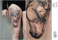 Koepfen Tattoo - Wild Horse for Sandra