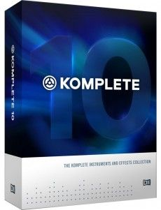 Native Instruments Komplete 10 http://ehomerecordingstudio.com/recording-studio-equipment-list/