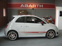 Abarth is the sporty brand of Fiat in Europe. Both the 500 and Punto are also sold under the Abarth label. Fiat 500, Bus Engine, New Fiat, Fiat Abarth, Steyr, Racing Team, Small Cars, Toys For Boys, Cars And Motorcycles
