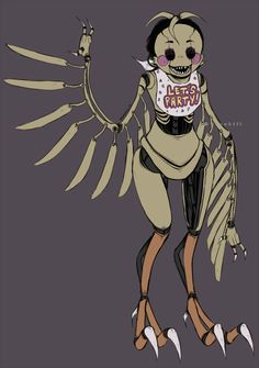 Drawkill F-NaF | TOY CHICA-b0t by DrawKill on DeviantArt