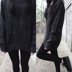 Get inspired from my collection of grunge outfits. You can submit your own outfits and ask any question around the topic. Grunge Outfits, Edgy Outfits, Mode Outfits, Fashion Outfits, Black Outfit Grunge, Gothic Outfits, Fashion Mode, Dark Fashion, Grunge Fashion