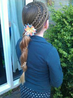 #hairstylesforgirls #cutegirlshairstyles #braids