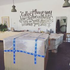 JUST ARRIVED | pretty excited over these two large deliveries from @hkliving @houseoforange and @downtothewoods | Moss unpacking tomorrow | Stay tuned  #niceshop #twigandmoss #home #art #gift #maitlandnsw #online