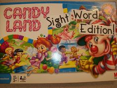 First Grader...at Last!: Candy Land: Sight Word Edition! How fun! Could really do this for any grade!