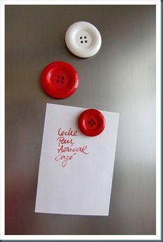 imanes con botones