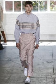 Duckie Brown menswear, spring/summer 2015, New York Fashion Week