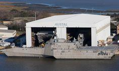 USS Coronado (LCS-4) is an Independence-class littoral combat ship.