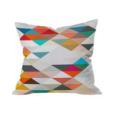 Complement your favorite couch, corner armchair, or day bed with this delightful throw pillow design. Decorated with charmingly vibrant geometric patterning, this throw pillow will easily brighten any ...  Find the An Earthly Pattern Throw Pillow, as seen in the Lumosity's Modern Industrial Dream Office Collection at http://dotandbo.com/collections/lumositys-modern-industrial-dream-office?utm_source=pinterest&utm_medium=organic&db_sku=112377