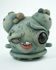 myplasticheart: This Could Get UglySep 24 '10 - Oct 24 '10 Chris Ryniak. Cute characters artist and sculpture artist