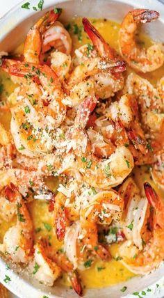 Red Lobster Shrimp Scampi Nachahmer - Try new things - Garnelen Shrimp Recipes For Dinner, Shrimp Recipes Easy, Seafood Dinner, Fish Recipes, Seafood Recipes, Cooking Recipes, Healthy Recipes, Shrimp Dishes, Vegetarian