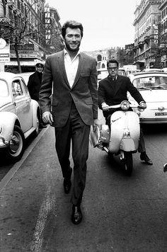 Clint in Rome