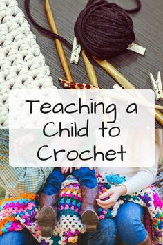 Teaching a Child to Crochet - Mary Walton for Mooglyblog.com