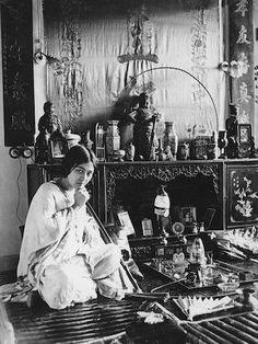 Woman Smoking Opium, Early 20th Century