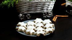 Skořicové hvězdy z vlašských ořechů. Snadné a chutné vánoční cukroví, které ozdobí slavnostní stůl | TelevizeSeznam.cz Waffles, Stuffed Mushrooms, Dairy, Ice Cream, Vegetarian, Cheese, Vegetables, Breakfast, Desserts