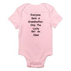 Oma Infant Bodysuit@lucalu