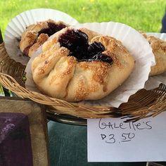 Blueberry Galette. Damariscotta Farmer's Market. Maine. Yumm!