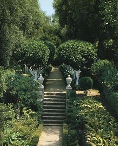 Hubert de Givenchy's Home & Garden, South of France