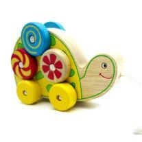 Kaper-Kidz-pull-a-long-spinning-pattern-turtle-wooden-toy