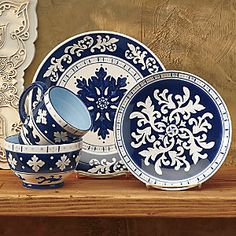 16-Piece Dinnerware Set from Ginny's ® | Z9705164