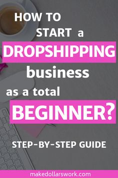 Do you want to make money from home with your own online business? Learn how to start a dropshipping business and set up an online store that can either be a nice side hustle or be turned into a full-time income. This step-by-step guide will teach help yo Online Income, Earn Money Online, Online Jobs, Business Planning, Business Tips, Business Launch, Business Formal, Business Motivation, Business Attire