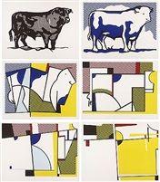 Bull Profile Series by Roy Lichtenstein, 1973