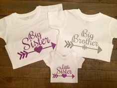 Big Sister Big Brother Little Sister Arrow by TugboatsAndTutus