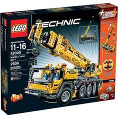 LEGO Technic Mobile Crane MK II Building Set