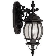 Lighting- Outdoor- Victorian Lantern Outdoor Wall Light Fixture - Overstock™ Shopping - Top Rated Sconces & Vanities