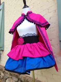 Disney's Frozen Inspired Princess Anna Cape costume.. Halloween... Birthday!! CAPE ONLY by LuLuandE on Etsy https://www.etsy.com/listing/196267302/disneys-frozen-inspired-princess-anna