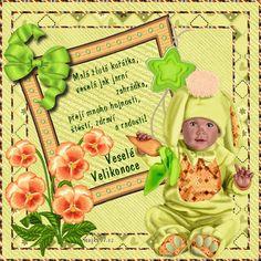 Veselé Velikonoce obrázky, citáty a animace pro Facebook - ObrazkyAnimace.cz Lettering, Czech Republic, Frame, Facebook, Decor, Picture Frame, Decoration, Drawing Letters, Decorating
