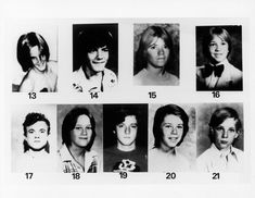 Victims of the 'Freeway Killer' William Bonin an American serial killer and twice-paroled sex offender. He committed the rape, torture and murder of a minimum of 21 boys and young men in a series of killings spanning between 1979 and 1980 in southern California. Bonin is also suspected of committing a further fifteen murders. He was convicted of 14 of these murders and subsequently executed in 1996. http://en.wikipedia.org/wiki/William_Bonin