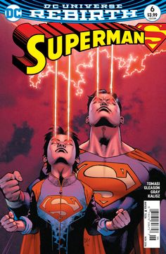 """""""SON OF SUPERMAN"""" part 6! The evil Eradicator faces off against Superman and son…"""