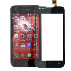 [$5.32] iPartsBuy Touch Screen Part for Huawei Ascend Y550(Black)